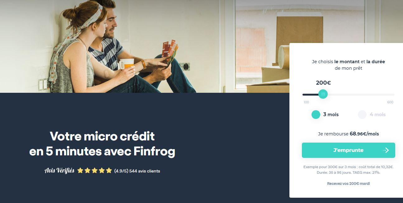 Finfrog credit